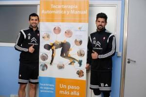 Capenergy y los jugadores del Celta de Vigo
